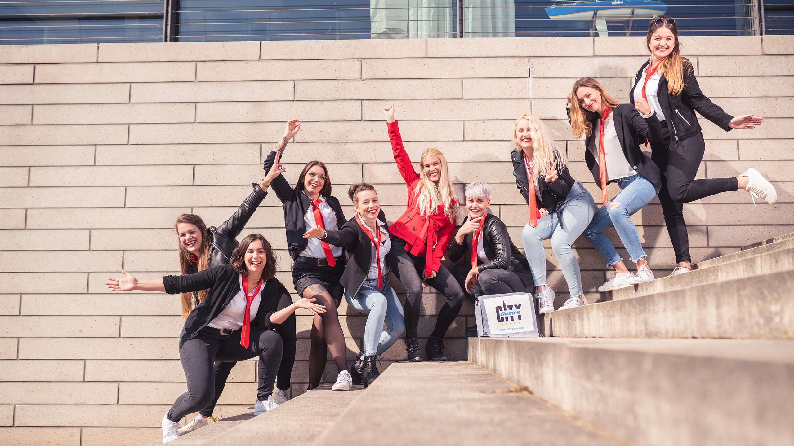 CityGames JGA Frauen Tour: Girls Wanna Have Fun